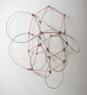 Boggle, ©2007<br>Monel wire rope, round copper rod, and lead. &lt;br&gt;&#xA;28h x 20w x 11.5d (inches), dimensions variable &lt;br&gt;&#xA;Estate of Charles Fahlen &lt;br&gt;&#xA;Photo by Kelly McManus &lt;br&gt;&#xA;Exhibited: Steven Wolf Fine Arts, 2007, Quicksilver Mine Co., 2012